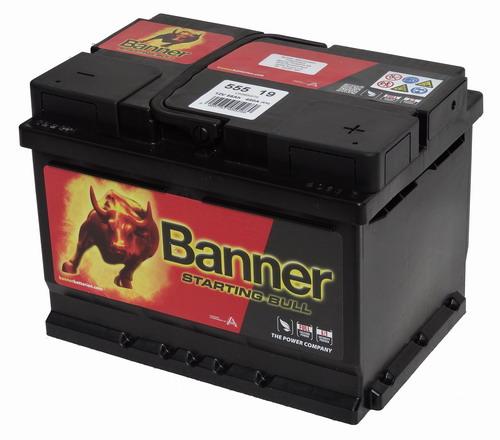 Banner Starting Bull Akkumulátor 12V 55Ah 450A Jobb+ (55519)