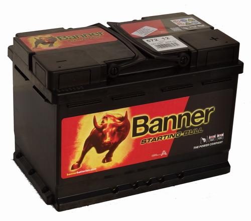 Banner Starting Bull Akkumulátor 12V 72Ah 650A Jobb+ (57212)